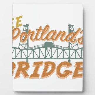 Portlands橋 フォトプラーク