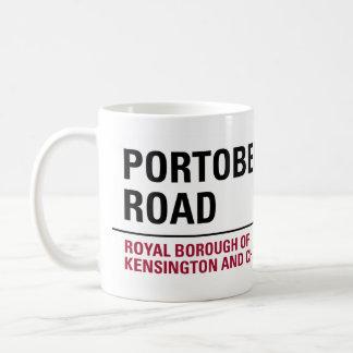Portobelloの交通標識 コーヒーマグカップ