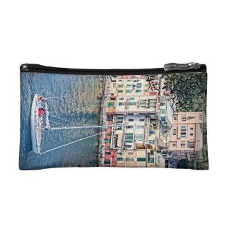 Portofinoに航海します、イタリア-化粧品のバッグ コスメティックバッグ