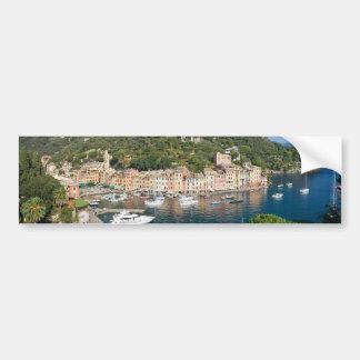 Portofinoのパノラマ バンパーステッカー
