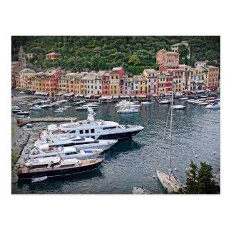 Portofino、イタリア-郵便はがき ポストカード