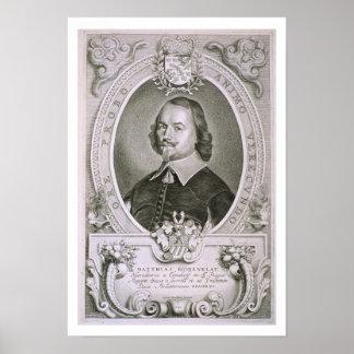 「PortrからのマティアスMylonius Biorenklou (1607-71年) ポスター