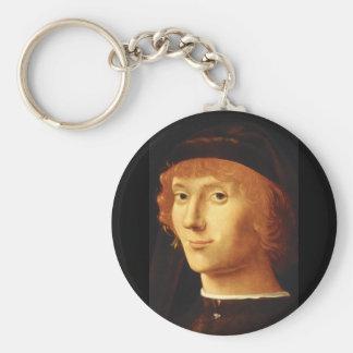 Portrait', Antonello da Messina_Portraits キーホルダー