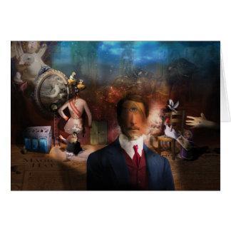 Portrait Du Magicien -手品師のポートレート カード