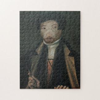 Portrait Puzzle Artist王室ので贅沢で王室のな氏 ジグソーパズル