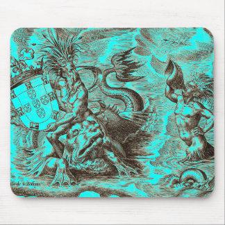Poseidonの世界地図 マウスパッド