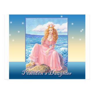Poseidonの娘 ポストカード