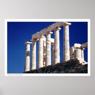 Poseidonの寺院 ポスター