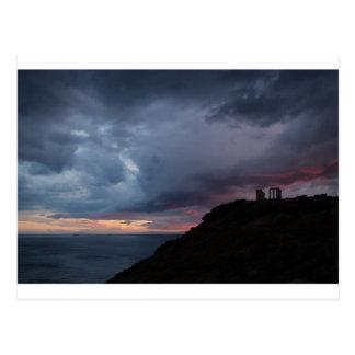 Poseidonの寺院 ポストカード
