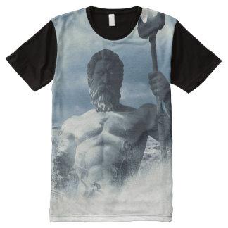 Poseidon オールオーバープリントT シャツ