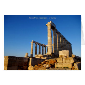 Poseidon - Sounioの寺院 カード