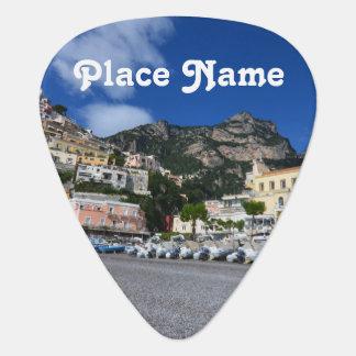 Positanoのビーチ ギターピック