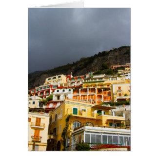 Positano、イタリア カード