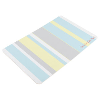 Positive Vibes Pastel Colors Floor Mat フロアマット