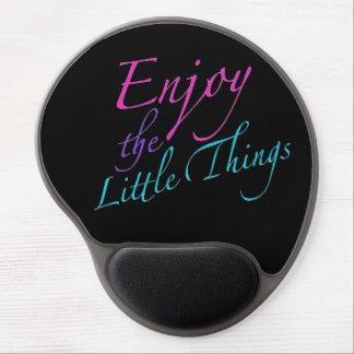 Positve Words Enjoy Life Quote ジェルマウスパッド