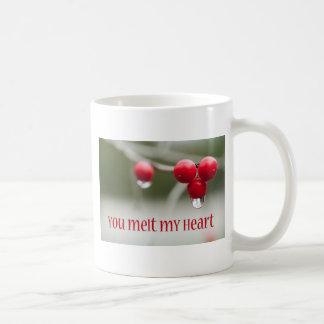 Possumhawの果実の溶ける氷 コーヒーマグカップ