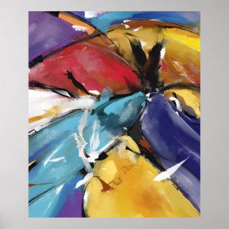 """Poster Grand Modèle 1510 """"L'Aigle et les Colombes"""" ポスター"""