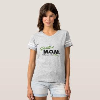 Postive M.O.M. (お金の考え方) Tシャツ