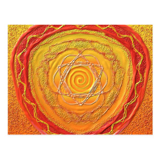 "Postkarte 27 ""Goldene Spirale"" ポストカード"