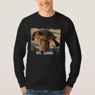 postturtle、Oh、がらくた! Tシャツ