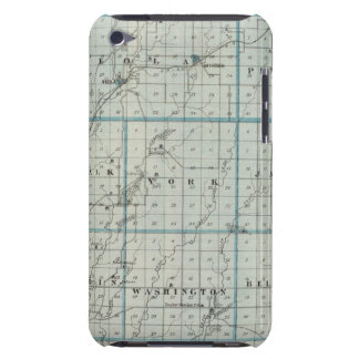 Pottawamie郡の地図 Case-Mate iPod Touch ケース