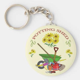 Potting Shed key ring キーホルダー