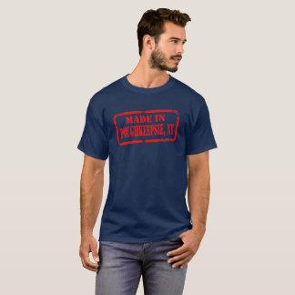 Poughkeepsie -赤で作られる tシャツ
