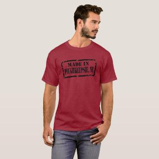 Poughkeepsie -黒で作られる tシャツ