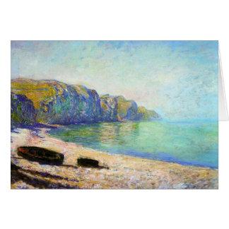 Pourvilleの干潮Monetのビーチのボート カード