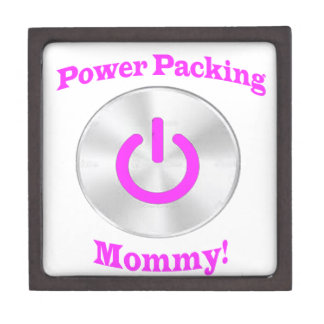 PowerpackingMommyピンク ギフトボックス