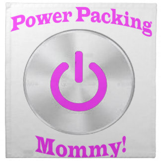 PowerpackingMommyピンク ナプキンクロス