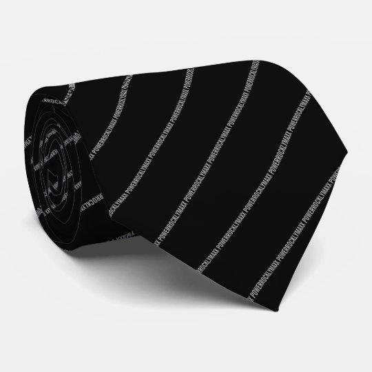 POWERROCKLYMAXX Tie(BLK) オリジナルネクタイ
