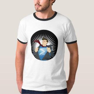 PowerShellのスーパーヒーローのTシャツ Tシャツ