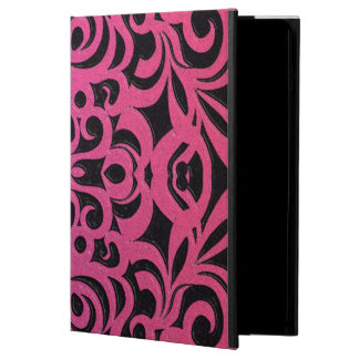 PowisのiCaseのiPadの場合の花柄の抽象芸術の背景 iPad Airケース