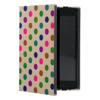 PowisのiCaseのiPad Miniケースの水玉模様 iPad Mini ケース