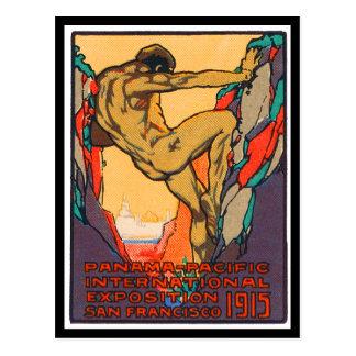 PPIE 1915年を開けるポスタースタンプ ポストカード