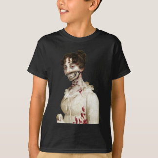 PPZカバーゾンビの子供のTシャツ Tシャツ