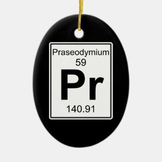 Pr -プラセオジム セラミックオーナメント