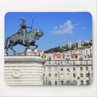Praca da Figueira、リスボン、ポルトガル マウスパッド