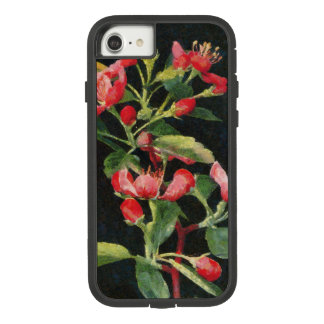 Prairie Crabapple Black and Pink Floral Pretty Case-Mate Tough Extreme iPhone 8/7ケース