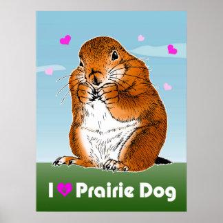 prairie dog (Heart) ポスター