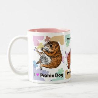 prairie dog which stands (4) ツートーンマグカップ