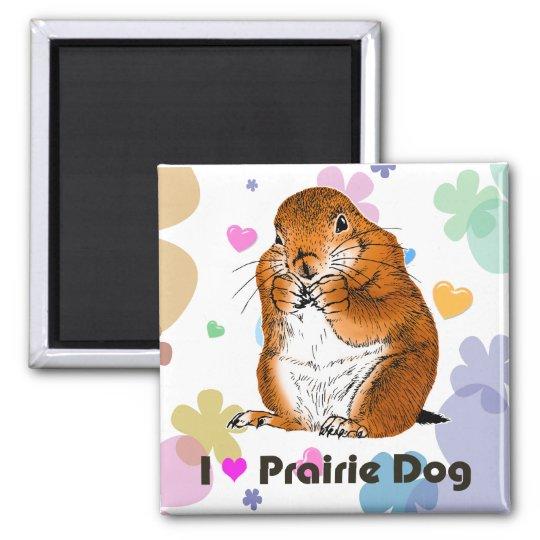 prairie dog which stands (4) マグネット
