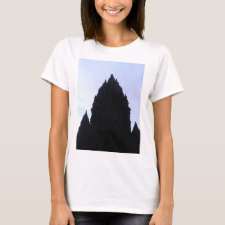 Prambananの寺院インドネシア Tシャツ