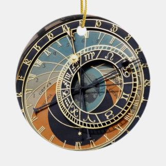 Praqueの天文時計 セラミックオーナメント