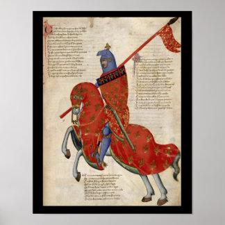 Pratoポスターの騎士 ポスター