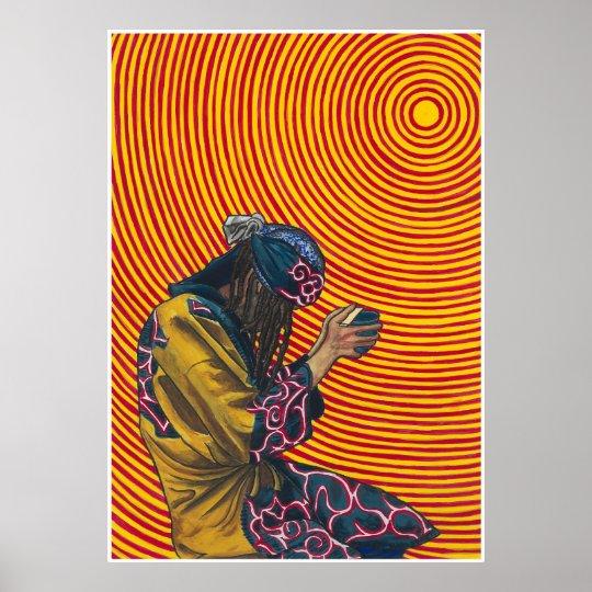 praying native japanese ポスター