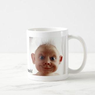 PregnantDrugsのひびのベビー! コーヒーマグカップ