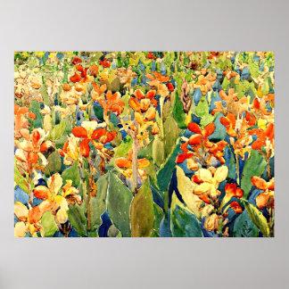 Prendergast -花壇 ポスター