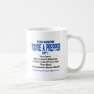 PREPPER 00001 コーヒーマグカップ